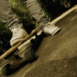 Person On Skateboard — Stock Photo #31718443