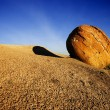 Stock Photo: Red Rock Boulder, Alberta, Canada