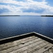 Stock Photo: Lakeside Dock
