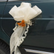 Stock Photo: The Wedding Car