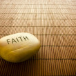 Stock Photo: Faith sign