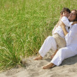 Mother And Son Hugging — Stock Photo