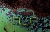 Closeup Of Rusty Handle — Stock Photo