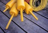 Buoys And Ropes — Stockfoto