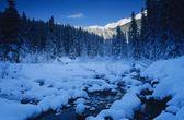 Banff National Park At Dawn — Stock Photo