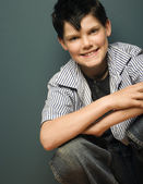 Portrait Of A Young Teen Boy — Stock Photo