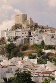 12Th Century Moorish Castle, Olvera, Cádiz, Spain — Foto de Stock