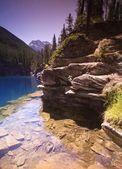 Mountain Lake Shoreline — Stock Photo