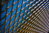 Metal Fencing — Stock Photo