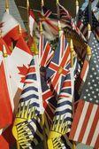 Zbiór flag — Zdjęcie stockowe