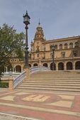 Plaza De España, Seville, Spain — Stock Photo