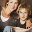 Portrait Of Mother And Child — Stockfoto #31720057