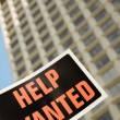 Help Wanted Sign — Stock Photo #31721839