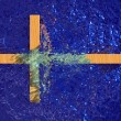 Cross In Water — Stock Photo #31722105