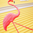 Pink Flamingo Yard Decoration — Stock Photo #31722767