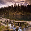 Stock Photo: Scenic Rocky Lake