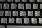 Closeup Of A Computer Keyboard — Stock Photo
