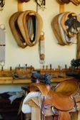 Tack And Saddle Shop — Stock Photo