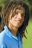 10 代の少年 — ストック写真