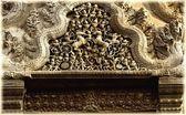 Bas-Reliefs Of Hindu Myths At Angkor Wat, Cambodia — Stock Photo