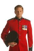 Officer In Dress Uniform — Stock Photo