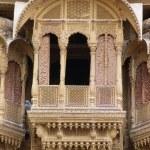 Detail Of Window, Patwon Ki Haveli, Rajasthan, India — Stock Photo #31753107