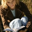 Woman Reading Her Bible — Stock Photo #31753511