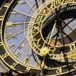 Detail Of The Astronomical Clock On Prague's Town Hall, Prague, Czech Republic — Stockfoto #31755155