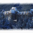 Banff Springs Hotel In Banff, Canada — Stock Photo