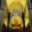 Interior Of Seville Cathedral, Andalusia, Spain — Stock Photo