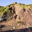 Stock Photo: Cliff Erosion, Ballydowane Cove, Copper Coast, Co Waterford, Ireland