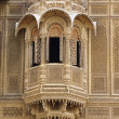 Detail Of Window, Patwon Ki Haveli, Rajasthan, India — Stock Photo