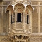 Detail Of Window, Patwon Ki Haveli, Rajasthan, India — Stock Photo #31756929
