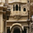 Facade Of Patwon Ki Haveli, Jaisalmer, Rajasthan, India — Stock Photo