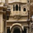 Facade Of Patwon Ki Haveli, Jaisalmer, Rajasthan, India — Stock Photo #31757777