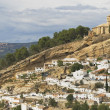 Stock Photo: Moorish Castle At Montefrío In Spain