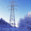 Electricity Pylon In Winter — Stock Photo #31759627