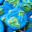 Closeup Of Blue And Green Treats — Stock Photo