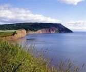 Bay Of Fundy, Nova Scotia — Foto Stock