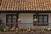 Architectural Exterior In Escalente, Cantabria, Spain — Stock Photo