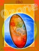 Ozone Illustration — 图库照片