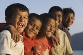 A Group Of Smiling Children — ストック写真
