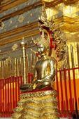 Wat phra den doi suthep i chiang mai, thailand — Stockfoto