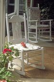Rocking Chairs On Country Porch — Stock Photo