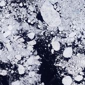 Martian Ice Floes — Stock Photo