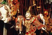 Display Of Marionettes, Chiang Mai, Thailand — Photo