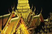 The Grand Palace At Night, Bangkok, Thailand — Foto Stock