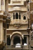 Facade Of Patwon Ki Haveli, Jaisalmer, Rajasthan, India — Stock Photo