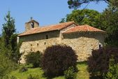 12Th Century Ermita, San Román De Escalante, Cantabria, Spain — Stock Photo