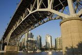 Granville Bridge, Vancouver, British Columbia, Canada — Stock Photo